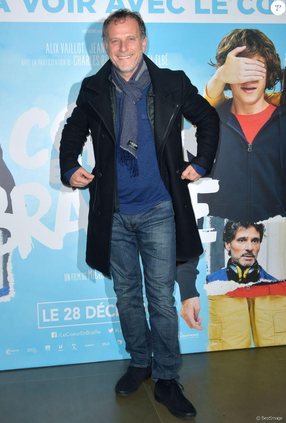 """Charles Berling - Avant-première du film """"Le coeur en braille"""" au cinéma Gaumont Marignan à Paris le 4 décembre 2016. © Giancarlo Gorassini/Bestimage"""