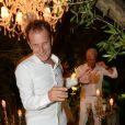 Exclusif - Charles Berling - 20ème édition de la soirée Blanche aux Moulins de Ramatuelle à Saint-Tropez le 12 juillet 2015.