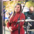 """Kelly Clarksonen concert pour """"The Today Show."""" A New York City, le 5 décembre 2016"""