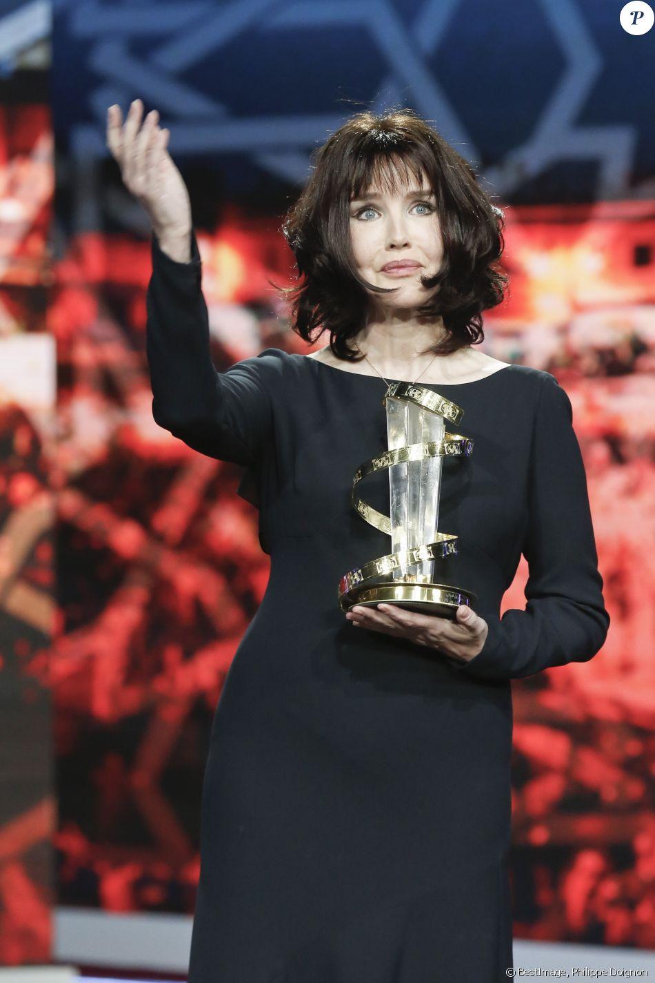 Cérémonie d'hommage à Isabelle Adjani lors du 16ème Festival International du Film de Marrakech. Le 9 décembre 2016 © Philippe Doignon