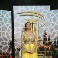 Samia Abbari - 16ème Festival International du Film de Marrakech. Le 9 décembre 2016 © Philippe Doignon / Bestimage