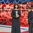 Cristian Mungiu, Abderrahmane Sissako - Cérémonie d'hommage à Isabelle Adjani lors du 16ème Festival International du Film de Marrakech. Le 9 décembre 2016 © Philippe Doignon / Bestimage