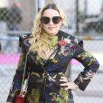 Madonna a choisi un look coloré pour assister au Billboard Women Music 2016 à New York le 9 décembre 2016.