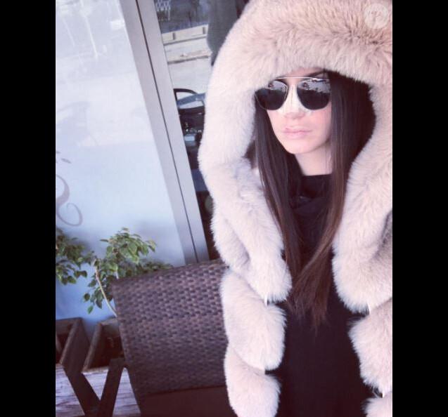 Nadège Laroix dévoile son visage après sa rhinoplastie - Instagram, décembre 2016