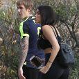 Justin Bieber est allé faire du jogging avec une jolie inconnue sur les hauteurs de Los Angeles, le 12 décembre 2016