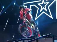 Incroyable Talent 2016 : Lourde chute à moto de Kenny Thomas !
