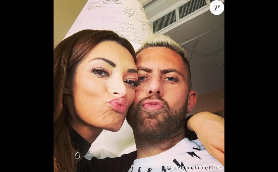 Emilie Nef Naf et Jérémy Ménez sont de nouveau en couple. La preuve avec cette photo ! Décembre 2016.