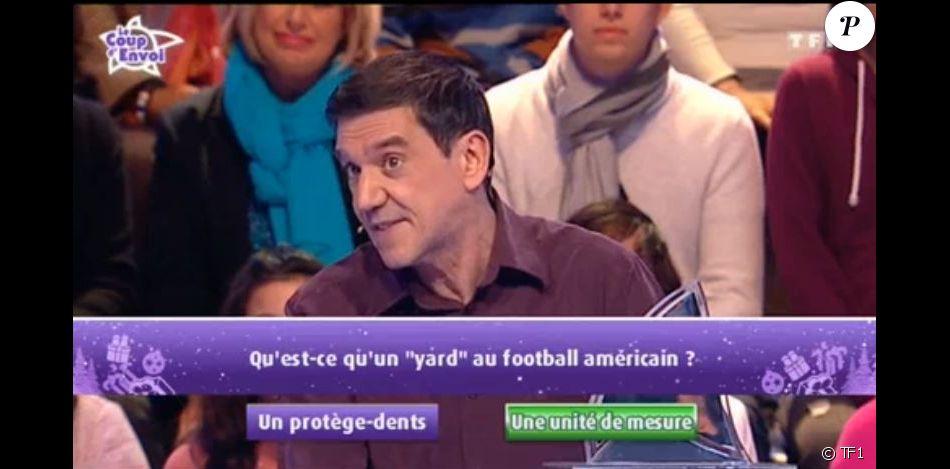 """Chrisitan dans """"Les 12 Coups de midi"""", vendredi 9 décembre 2016, sur TF1"""