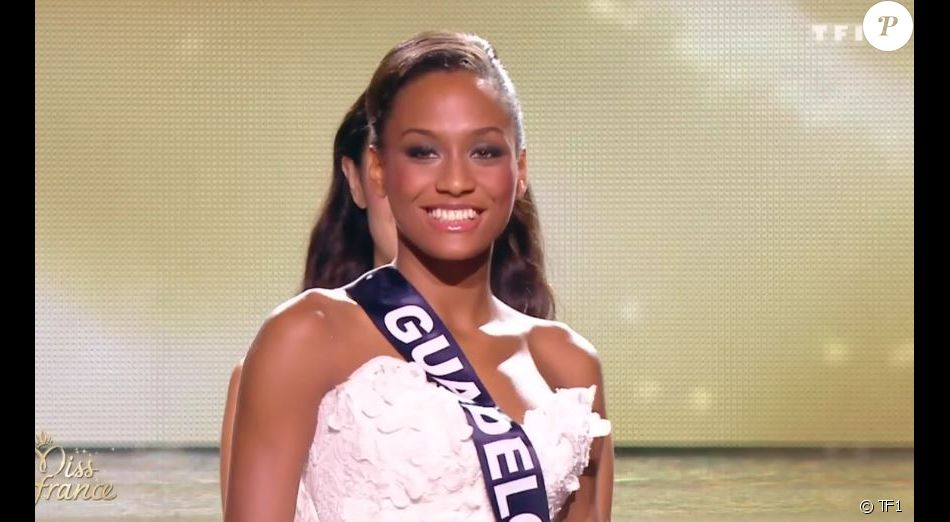 Miss guadeloupe morgane th r sine est d sign e 3e dauphine - Miss france 2017 interview ...