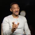 Will Smith en interview avec PurePeople pour le film Beauté cachée.