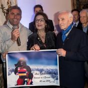 Charles Aznavour : Un poète à l'honneur, devant Nana Mouskouri et Stéphane Bern