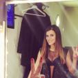"""Karine Ferri, candidate de la saison 7 de """"Danse avec les stars""""."""