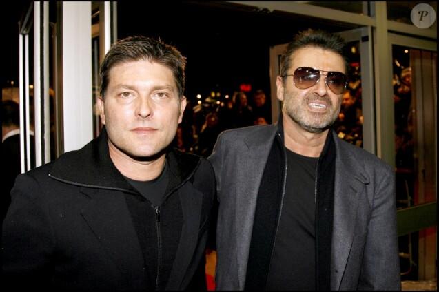 George Michael Et Kenny Goss Londres En Novembre 2007