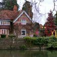 La résidence de George Michael à Goring, le 26 décembre 2016.