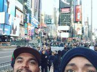 Kev Adams : Vacances et anniversaire avec son frère Noam à New York