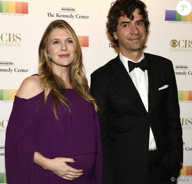 Hamish Linklater et Lily Rabe, enceinte, au gala du Kennedy Center à Washington, le 4 décembre 2016.