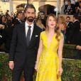 """Hamish Linklater et Lily Rabe lors des 22ème """"Annual Screen Actors Guild Awards"""" à Los Angeles. Le 30 janvier 2016."""