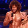 """Laurent Maistret et Denitsa Ikonomova - """"Danse avec les stars 7"""" sur TF1. Le 15 octobre 2016."""