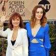 """Susan Sarandon et sa fille Eva Amurri - Susan Sarandon lors des 22e """"Annual Screen Actors Guild Awards"""" à Los Angeles le 30 janvier 2016. © CPA /BESTIMAGE"""