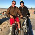 Arnold et Patrick Schwarzenegger à Santa Monica. Décembre 2016.