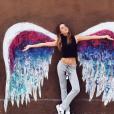 Carla Ginola en vacances à Los Angeles. Photo postée sur Instagram en décembre 2016.