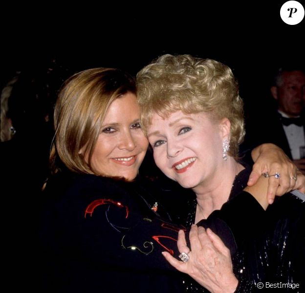 Carrie Fisher et sa mère Debbie Reynolds - Los Angeles en 1999