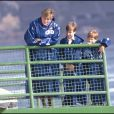 """"""" La princesse Diana, le prince William et le prince Harry en octobre 1991 aux chutes du Niagara. """""""