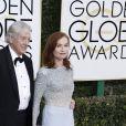 Isabelle Huppert et Paul Verhoeven - La 74ème cérémonie annuelle des Golden Globe Awards à Beverly Hills, le 8 janvier 2017. © Olivier Borde/Bestimage