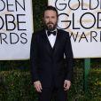 Casey Affleck - 74e cérémonie annuelle des Golden Globe Awards à Beverly Hills, le 8 janvier 2017.