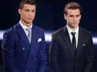 Antoine Griezmann encore battu par Cristiano Ronaldo, son frère toujours fier