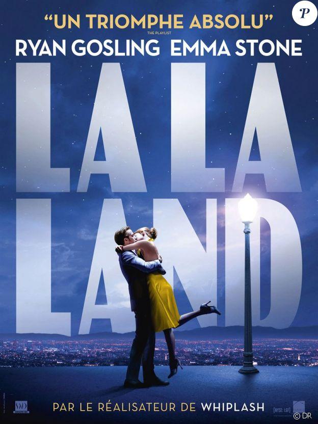 Affiche du film La La Land en salles le 25 janvier 2017