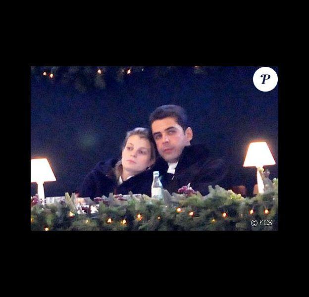Athina Onassis et son mari Doda