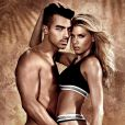 Joe Jonas et Charlotte McKinney figurent sur la nouvelle campagne publicitaire de Guess Underwear. Photo par Yu Tsai.