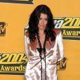 Jenifer Bartoli aux MTV Europe Music Awards 2004 à Rome. Novembre 2004.