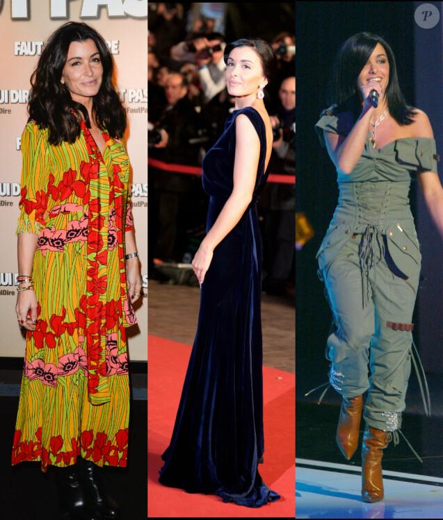 Jenifer en janvier 2017, janvier 2010 et janvier 2003. Le style de la chanteuse et actrice a évolué avec les années.