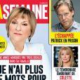 Claudette Dion en couverture du magazine québécois La Semaine, paru le 12 janvier 2017