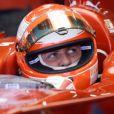 """""""Michael Schumacher essaie la nouvelle Ferrari le 13 novembre 2007 à Barcelone."""""""
