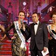 Margot Coyette, Miss Prestige Paris Ile-de-France 2016 et candidate au jeu Friends Trip 3 sur NRJ 12, est quatrième dauphine de Miss Prestige National 2017. Le 14 janvier 2017 à Gauriaguet près de Bordeaux. © Patrick Bernard / Bestimage