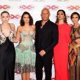 Hermione Corfield, Nina Dobrev, Vin Diesel, Deepika Padukone et Ruby Rose - Avant-première du film xXx - Reactivated à Londres le 10 janvier 2017