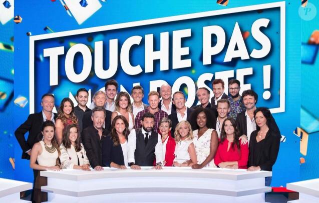 """Les chroniqueurs de """"Touche pas à mon poste""""."""