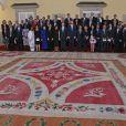 Le roi Felipe VI d'Espagne lançait l'Année internationale du Tourisme pour le développement durable au Palais Royal du Pardo à Madrid, le 17 janvier 2017.