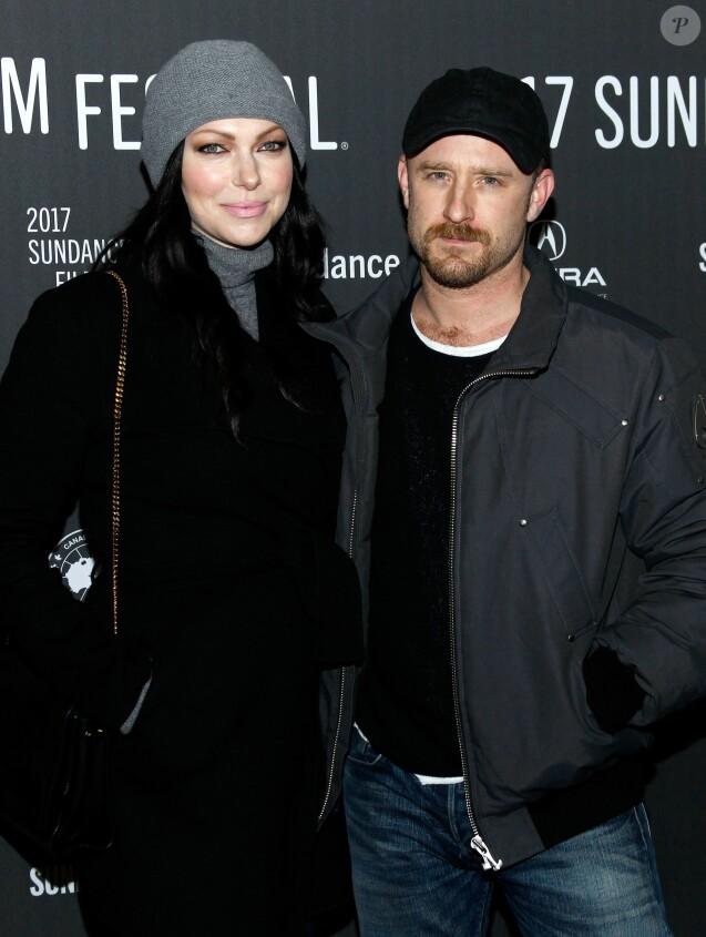 Laura Prepon et Ben Foster à la première de The Hero lors du festival du film de Sundance, le 21 janvier 2017
