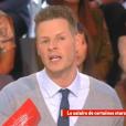"""Matthieu Delormeau dans """"Il en pense quoi Matthieu ?"""" sur C8, le 27 janvier 2017."""