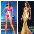 Iris Mittenaere renversante de beauté à Miss Univers 2016, le 26 janvier 2017.