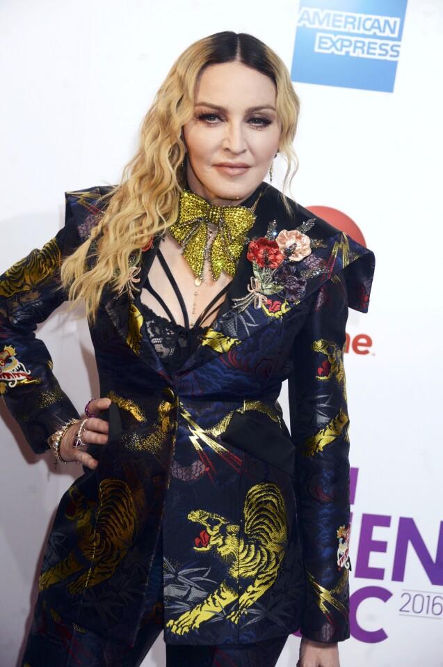 Madonna à la soirée 2016 Billboard Women à New York, le 9 décembre 2016 © Future-Image via Zuma/Bestimage09/12/2016 -