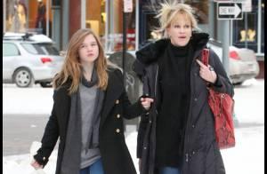 PHOTOS : Melanie Griffith et sa ravissante fille Stella... une future star ?