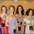 """L'équipe de """"Desperate Housewives"""" dans la salle de presse des Screen Actors Guild Awards (SAG), le 29 janvier 2006."""