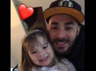 """Karim Benzema : Un tendre """"papou"""" pour l'anniversaire de sa fille Mélia"""