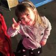 Karim Benzema fête les 3 ans de sa fille Melia, sur Instagram, le 3 février 2017.