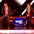 """Baptiste Gianiconi et Maxime Dereymez dans """"Danse avec les stars, le grand show"""", samedi 4 février 2017"""", TF1"""